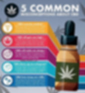 misconceptions about cbd