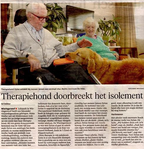 krant1 www.stichtingtherapiehond.nl.jpg
