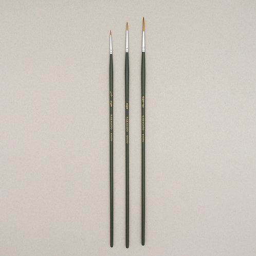 セーブル油彩サイン筆 (丸型)