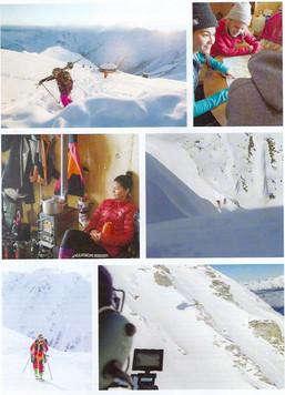 NZ Skier Leading Ladies