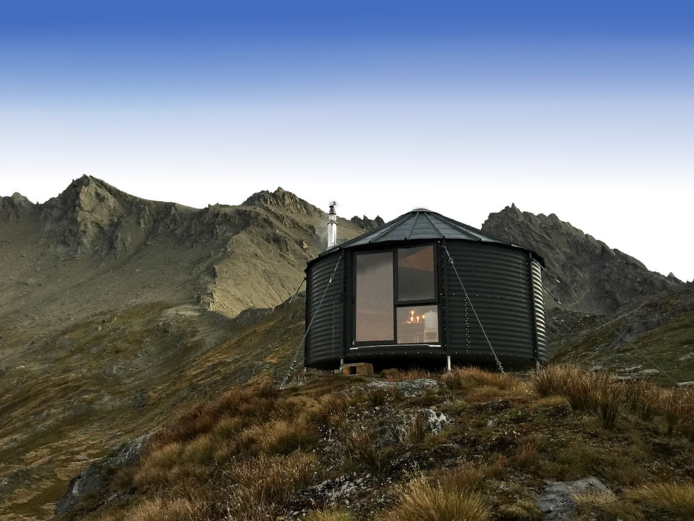 Kelly Hut Mount Larkins New Zealand