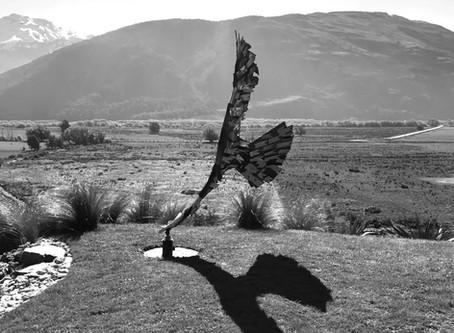 Haast Eagle Wind Sculpture