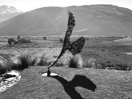 Haast Eagle Wind Sculpture