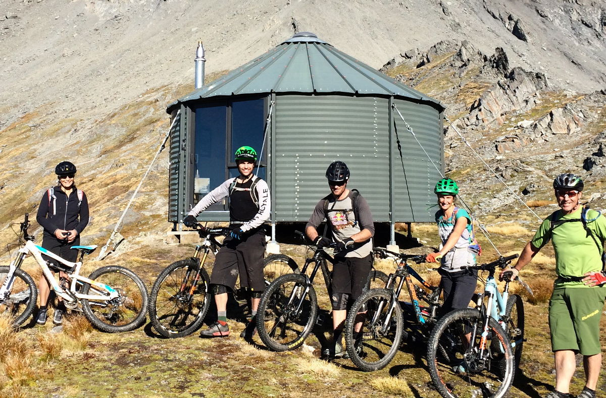 Kelly Hut - Heli Biking