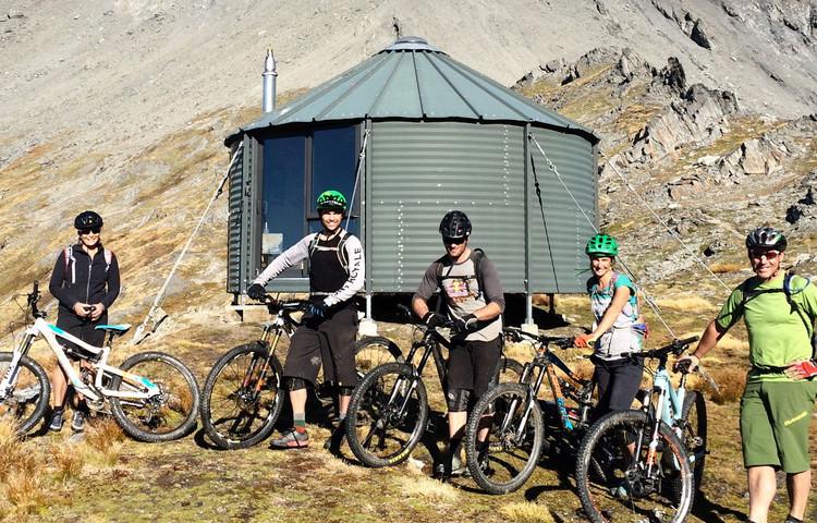 Kelly Hut - Heli Biking
