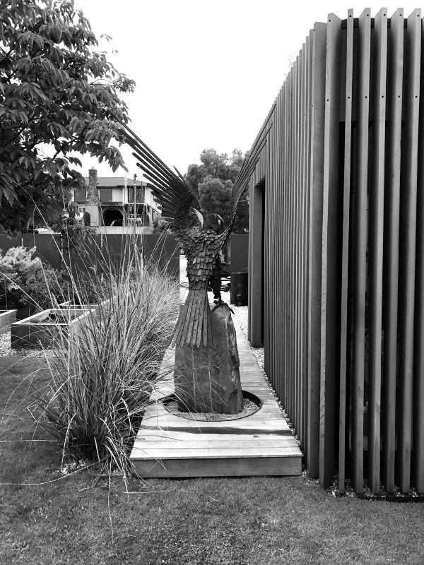 Dan Kelly Sculpture - Grace Totem's Eagle Commission