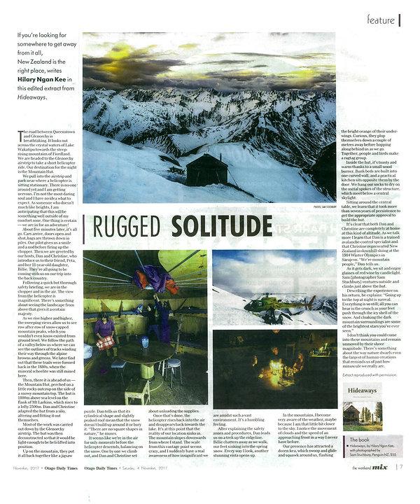Kelly Hut Otago Daily Times