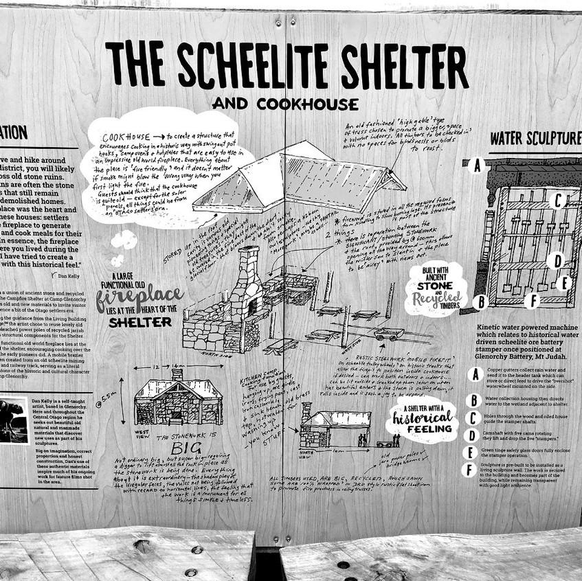 Dan Kelly Sculpture - The Sheelite Shelter