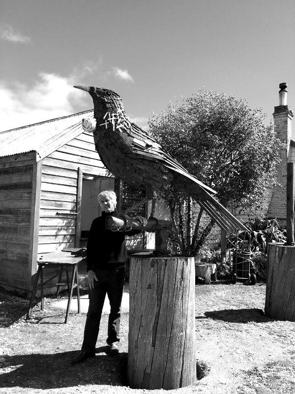 Dan Kelly Sculpture - Bob's Cove Glen Tuis
