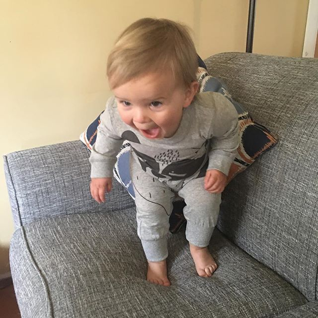 Our favourite little man has already popped in this morning to grab a lolly bag! __ 20% off all baby