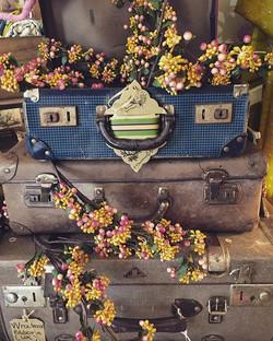 #macandmorgan #castlemaine #vintage #suitcases