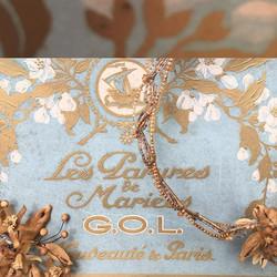 Beautiful box of french wedding adornmen