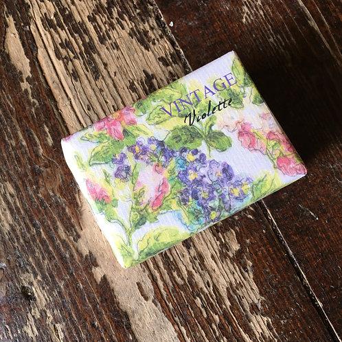 Vintage Violette Bath Soap