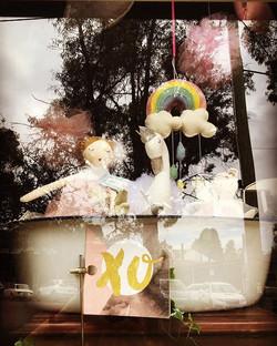 Window shot with cuties @nanahuchy in a