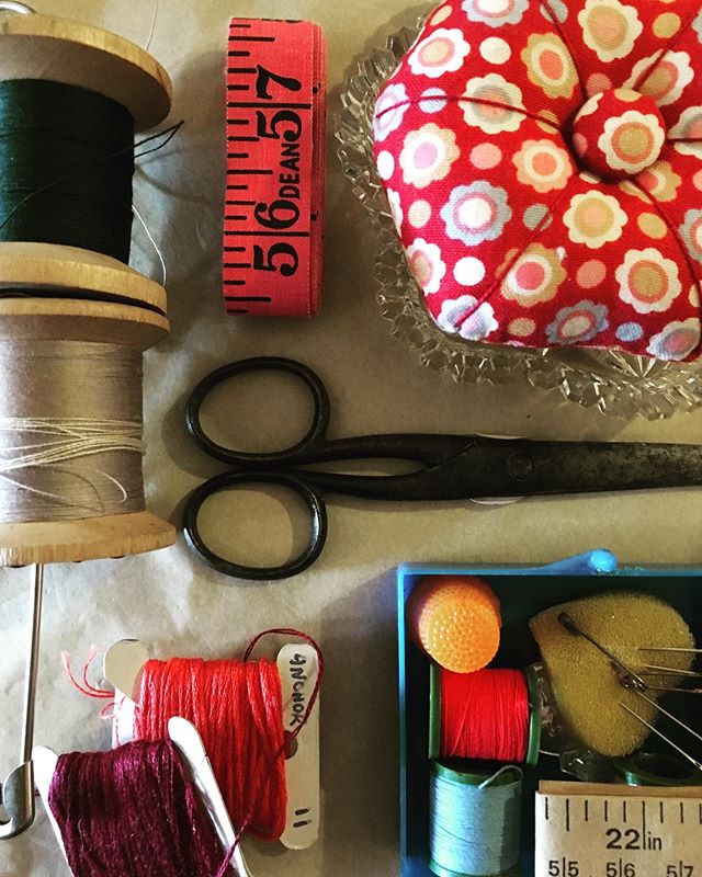 SUNDAY SEWING @macandmorgan || small sel