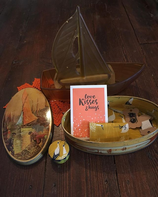 What floats your boat___ Browse the eclectic mix _macandmorgan in Castlemaine this weekend!! #ancien