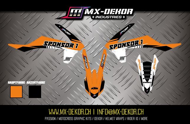 Body Dekor Kit KTM