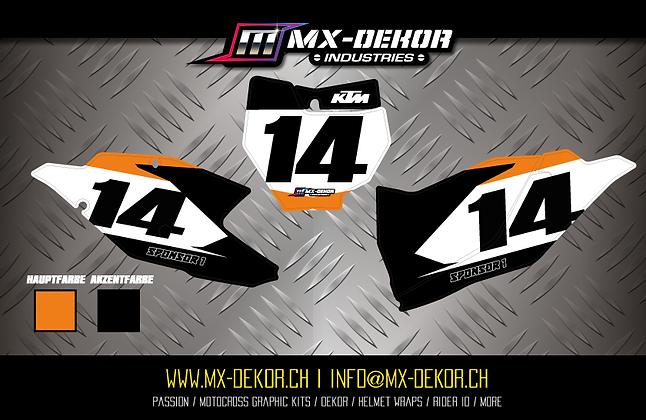 Nr. Plate Kit KTM