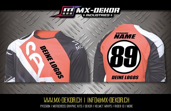 MX Shirt Transfer Druck Custom