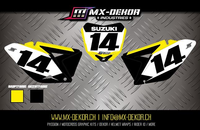 Nr. Plate Kit Suzuki