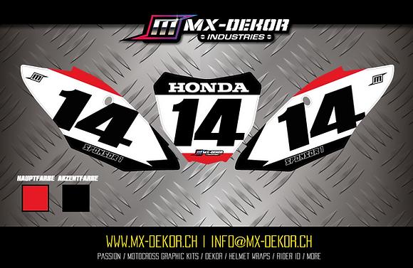 Nr. Plate Kit Honda