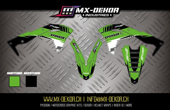 Body Dekor Kit Kawasaki