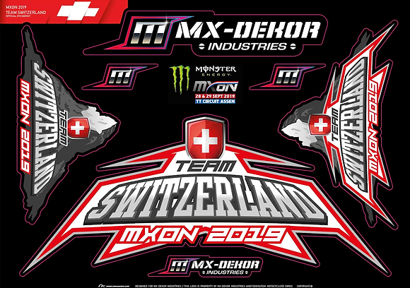 OFFICIAL MXoN STICKERKIT 2019