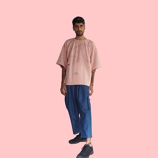GHARIYAL UNISEX T-SHIRT - Summer Pink