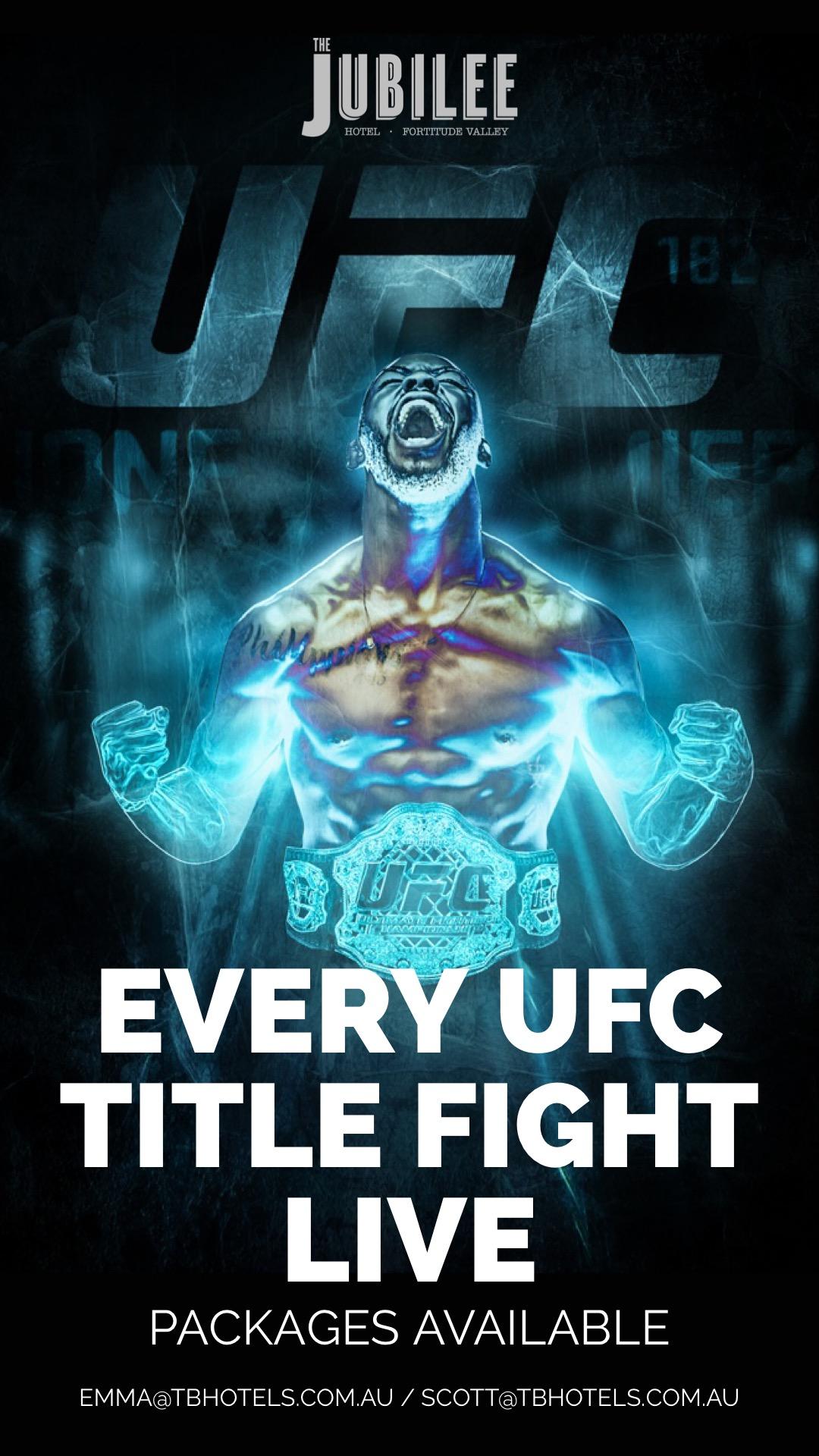 JUB UFC Insta Story