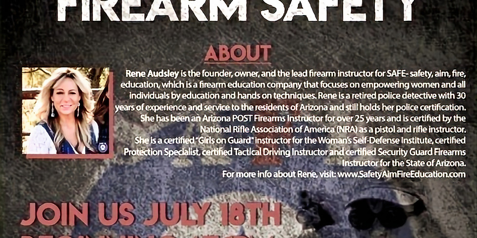 Basic Intro to Firearm Safety