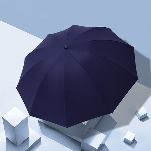 Windproof Automatic Folding Inverted Umbrella,10 Ribs Portable Reverse