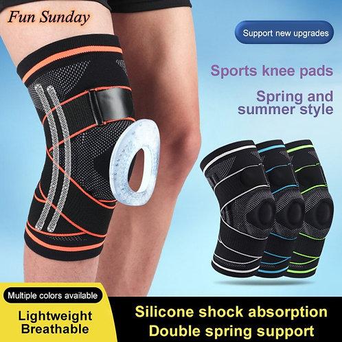 1pc Knee Bone Gel Pad Sleeve Thermal Compression Knee Support Bandage