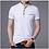Thumbnail: Short Sleeve Collar Tee Shirt Men Spring Summer