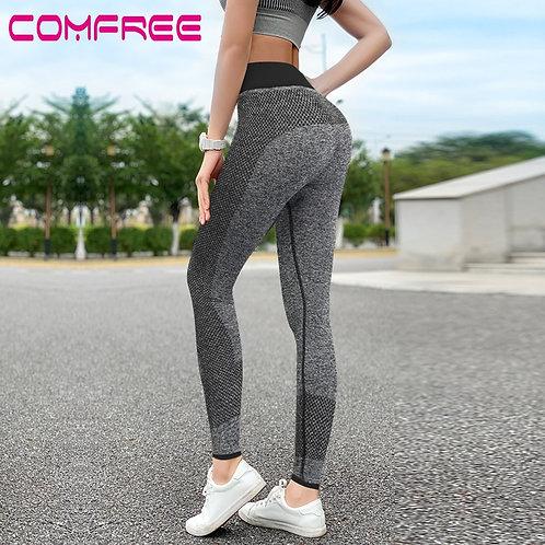 Yoga Pants Push Up Sports Leggings High Waisted Tummy Control Leggins