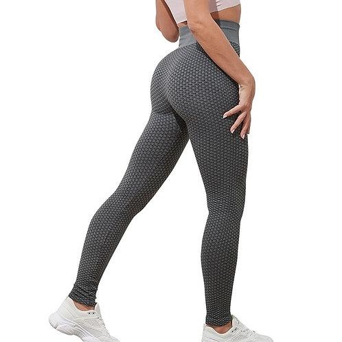 Women Anti Cellulite Yoga Pants White Sport leggings Push Up Tight Gym
