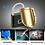Thumbnail: Waterproof USB Charging Fingerprint Lock Smart Padlock door lock