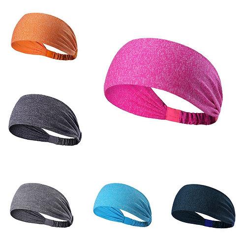 Wide Sports Headband Stretch Elastic Yoga Running Headwrap Hair