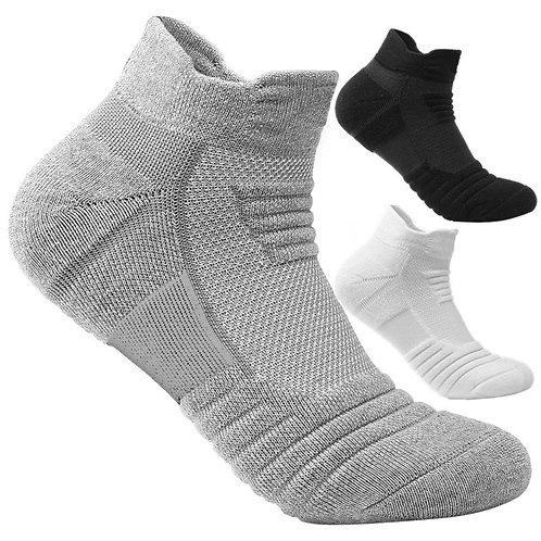2 Pairs Socks Sports Unisex Anti-slip breathable