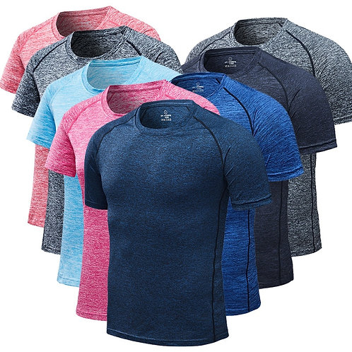 Quick Dry Compression Running T Shirts M 6XL | Running T-Shirts