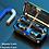 Thumbnail: Bluetooth 5.0 Earphones 2200mAh Wireless Stereo Sports Waterproof and Microphone