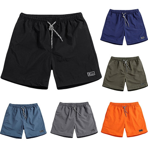 New Shorts Men Summer Plus Size Thin Fast drying Beach Trousers