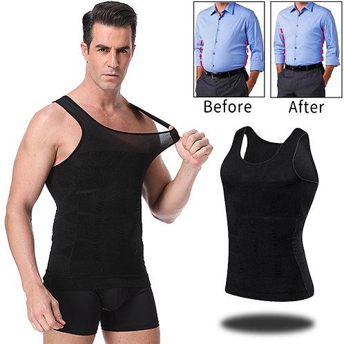 Men Slimming Body Shaper Abdomen Belly Control Shapewear Vest Modeling