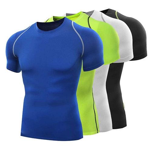 Quick Dry Sport T Shirt Running Wear Gym Bodybuilding Workout