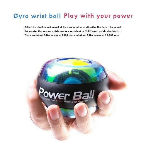 Multi functional Gyroscope LED Wrist Ball Trainer Practical Durable