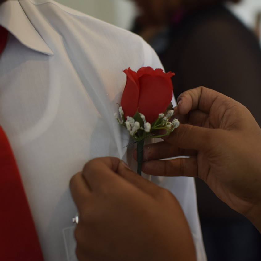 Boutonniere Placement