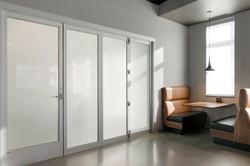 Private Dining Folding Door Open