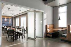 Private Dining Folding Door Closed