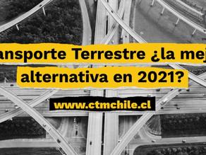 Transporte Terrestre ¿Tú mejor alternativa en 2021?