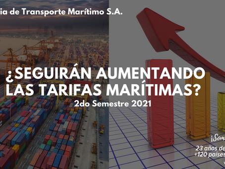 Tarifas marítimas 2do trimestre 2021