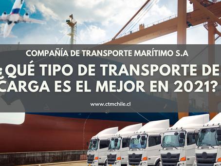 ¿Qué tipo de transporte de carga es el mejor en 2021?